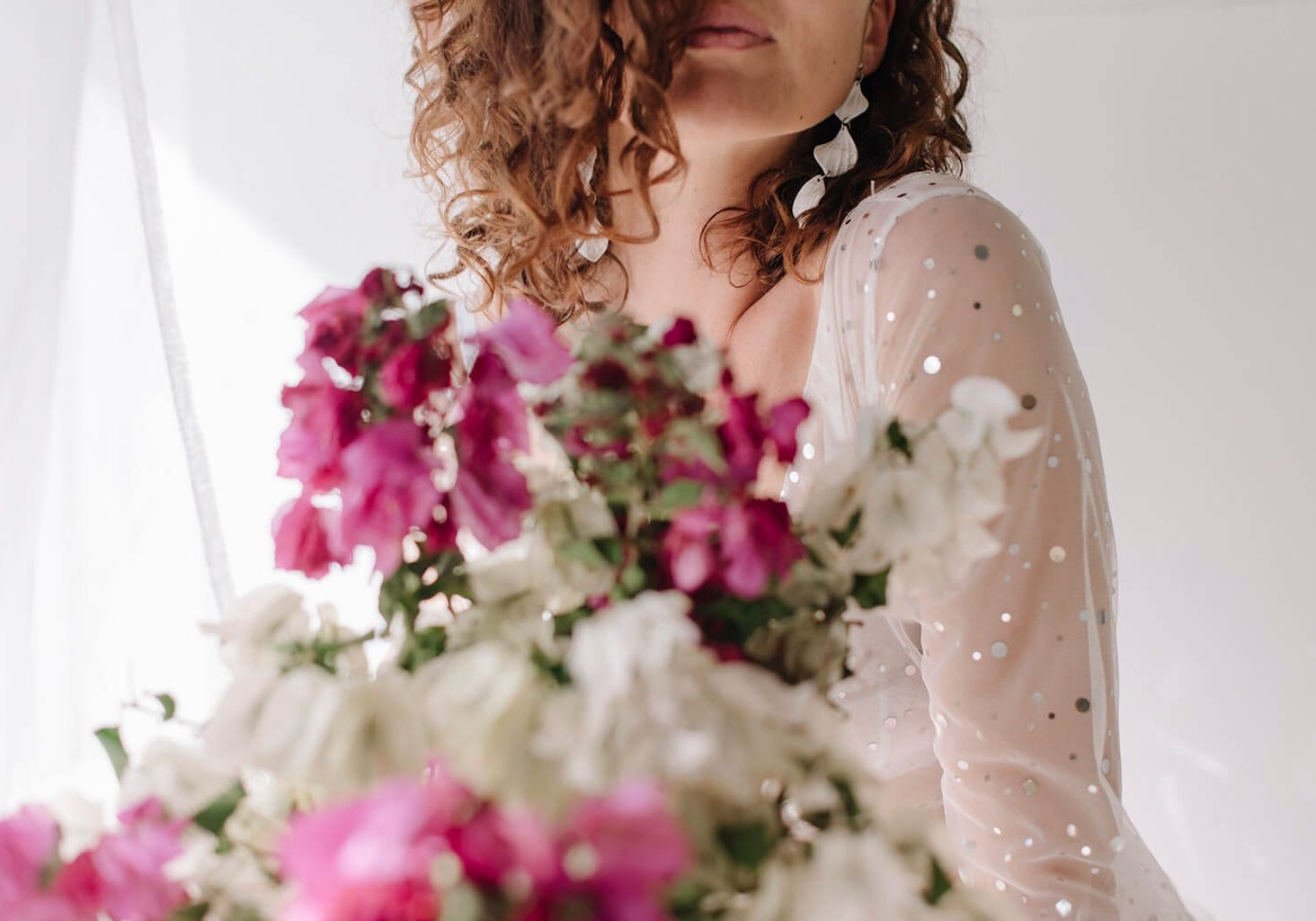 <b>STYLED SHOOT</b><br><br>Bouganvillea and Sparkles